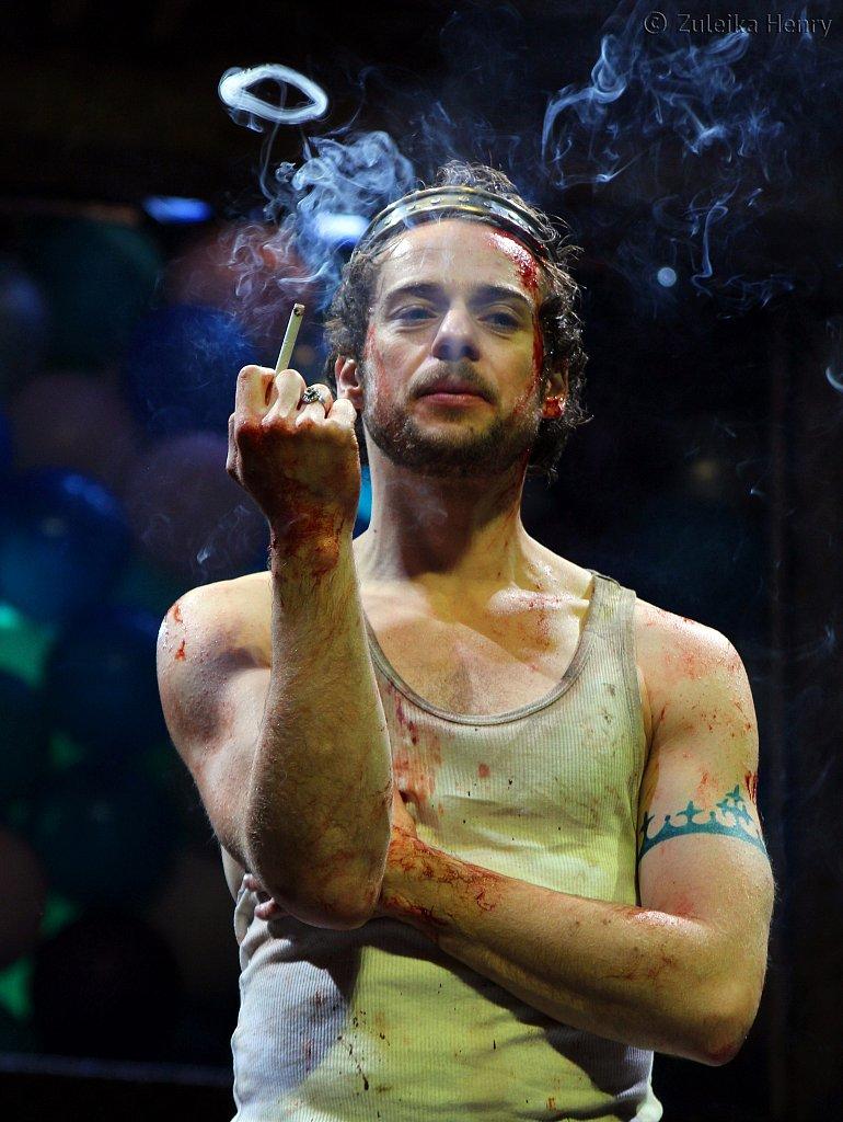 Alex Waldmann as King John