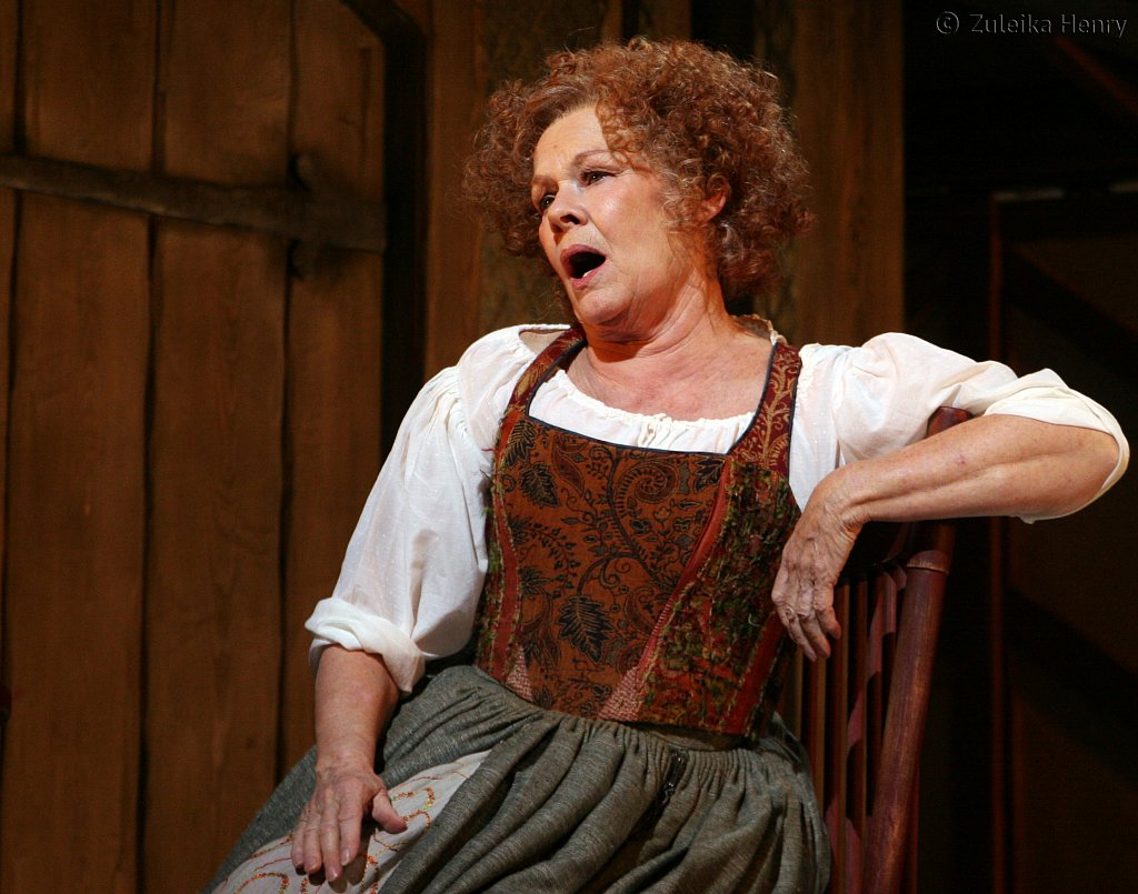 Judi Dench as Mistress Quickly