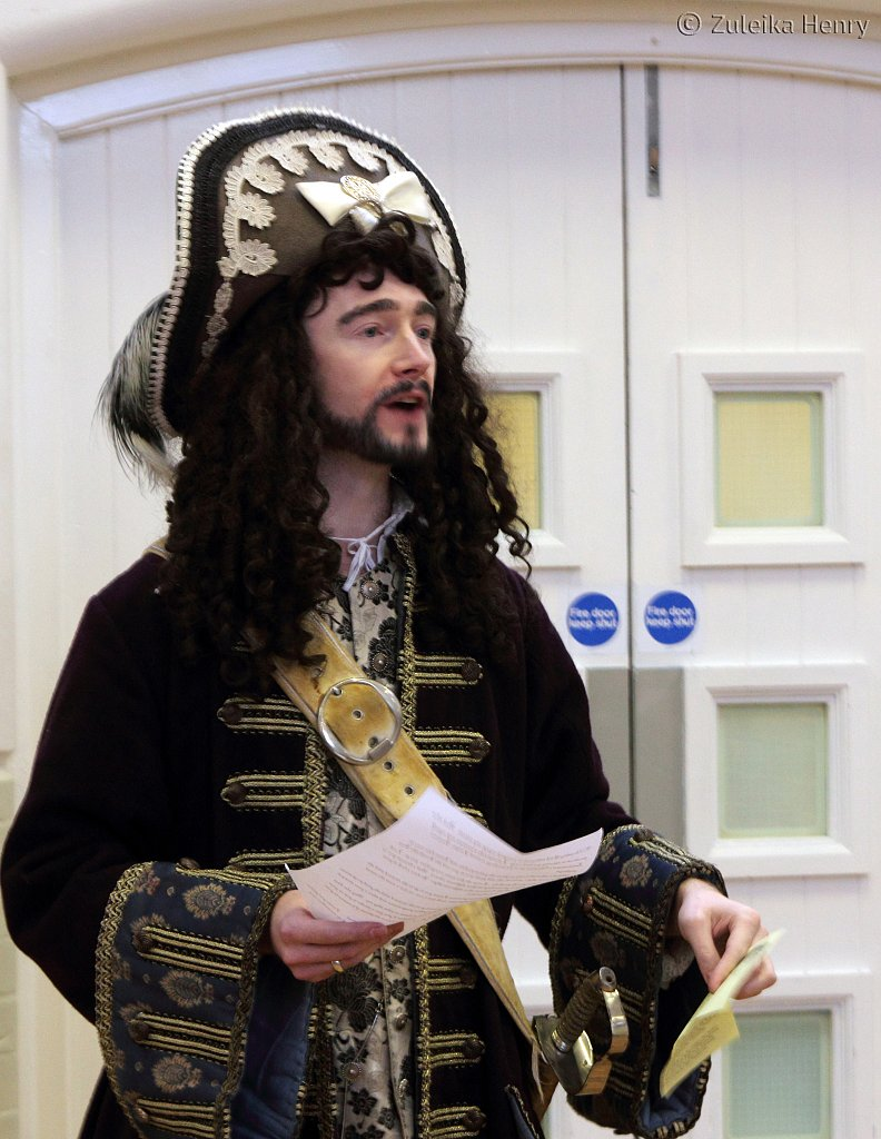 Gerard Cooke in Hook by James Ravello