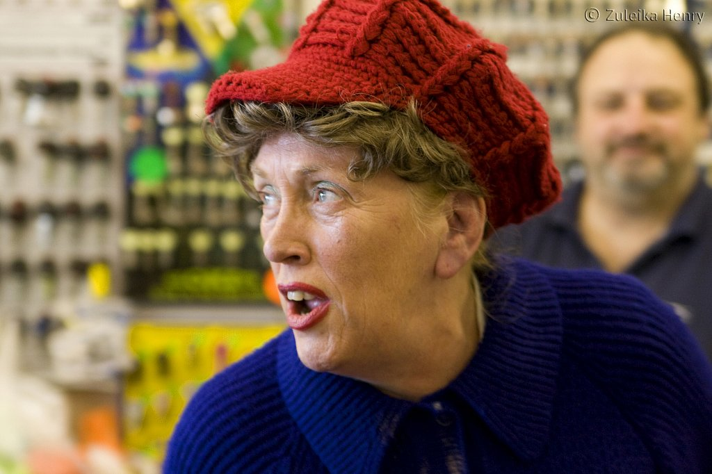 Kate McNab in Well Heeled by Joyce Fey