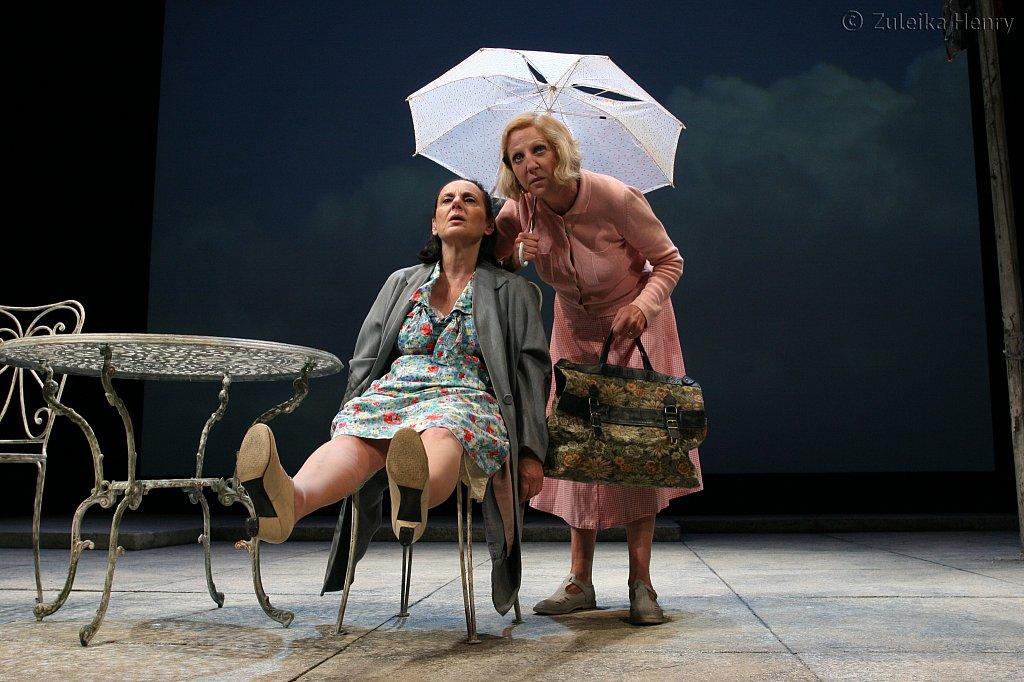 Lesley Joseph as Kathleen and Nichola McAuliffe as Marjorie