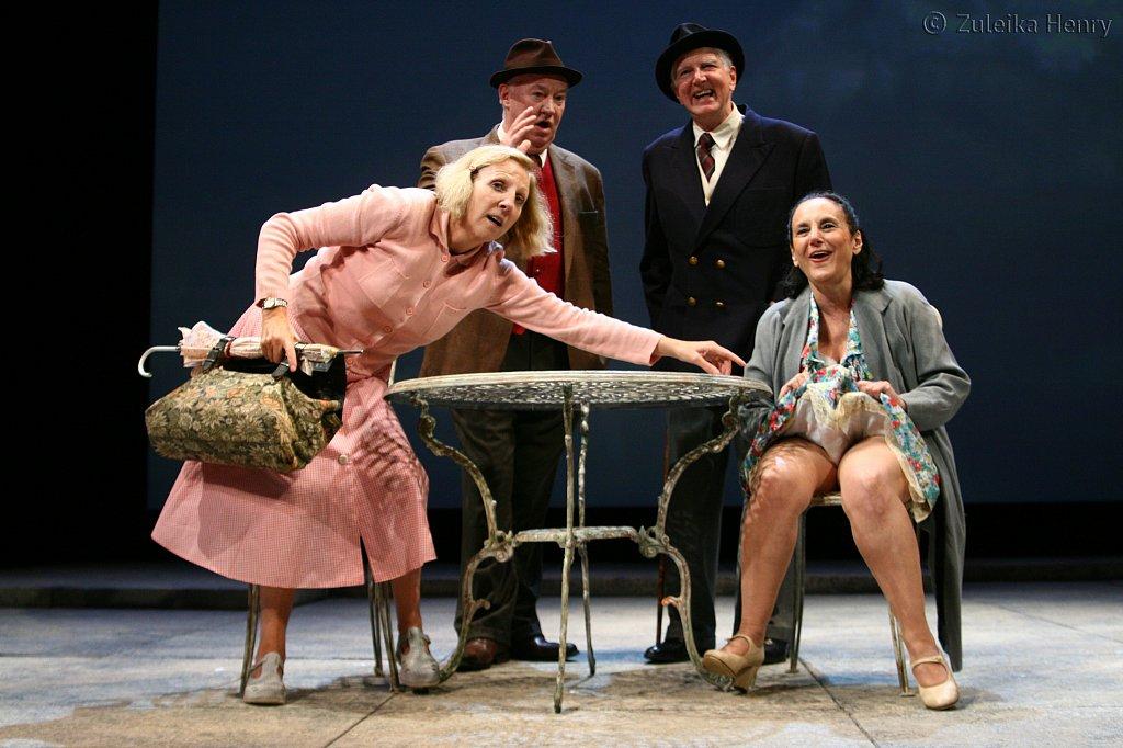 Nichola McAuliff as Marjorie David Calder as Harry, Stephen Moore as Jack and Lesley Joseph as Kathleen