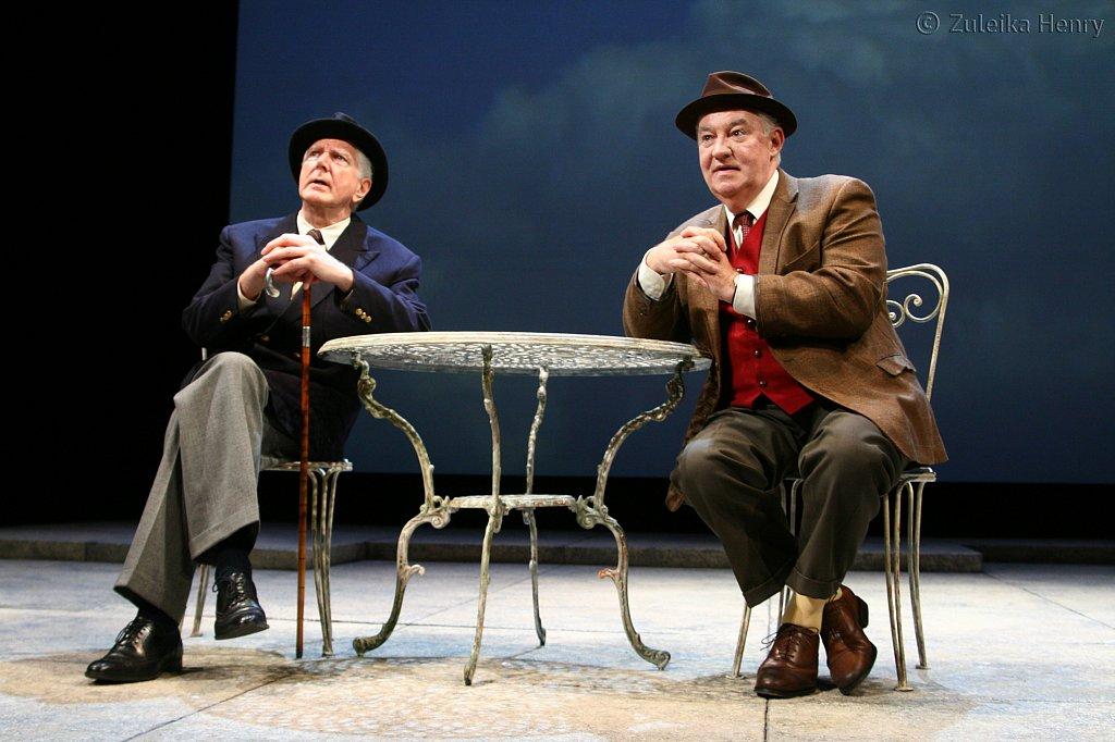 Stephen Moore as Jack and David Calder as Harry