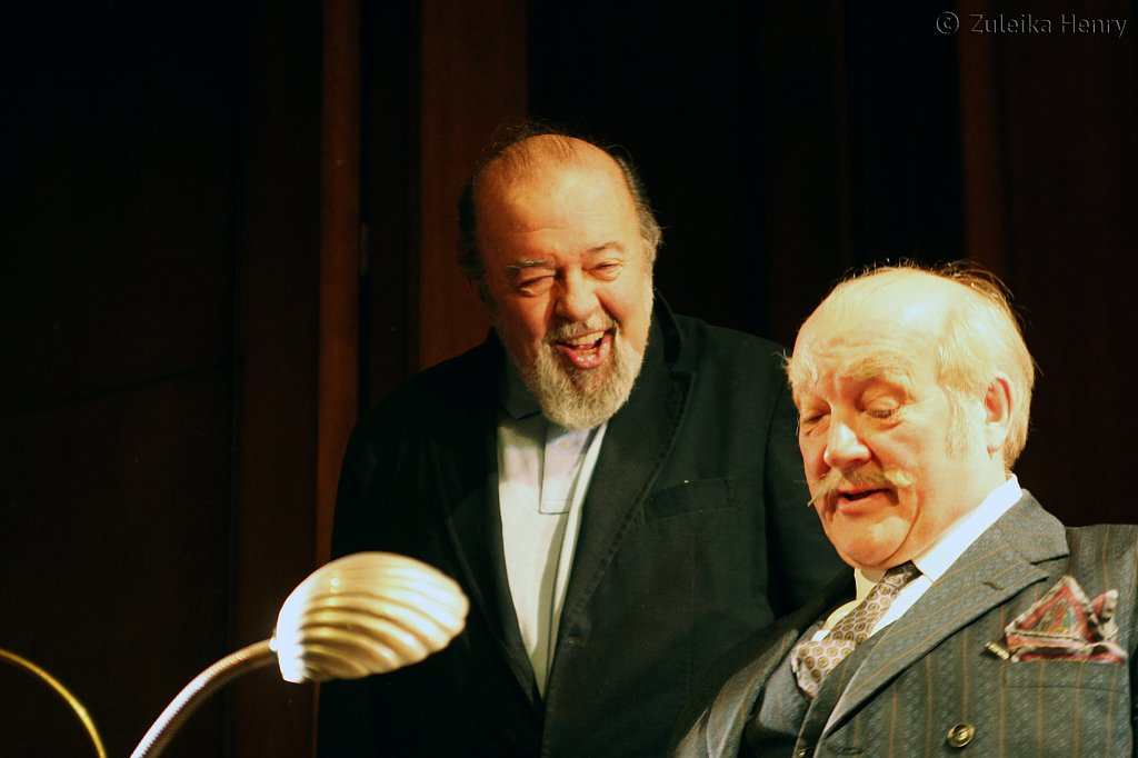 Peter Hall and Barry Stanton