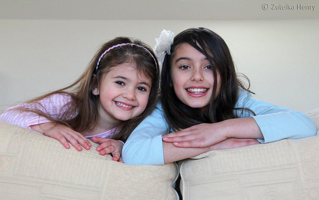 Ayesha and Laila Huckin