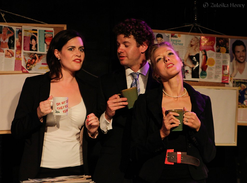 Norah King, David Hansford and Sarah Bell