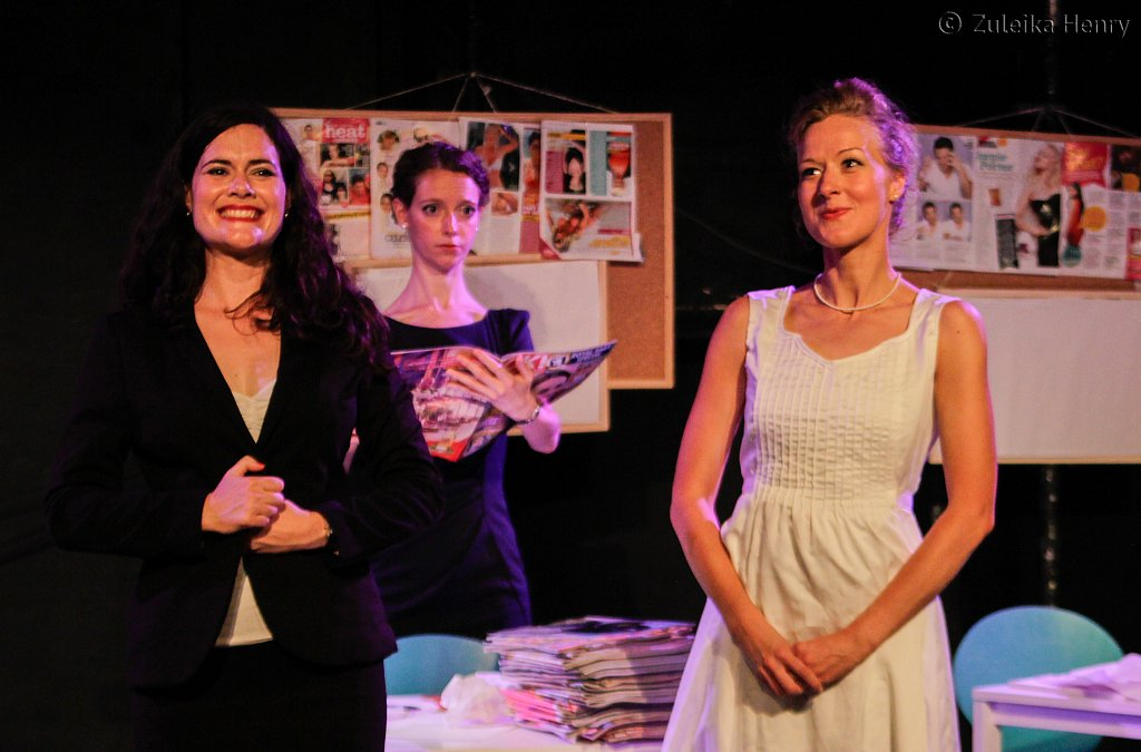 Norah King, Cathy Bell and Sarah Minns