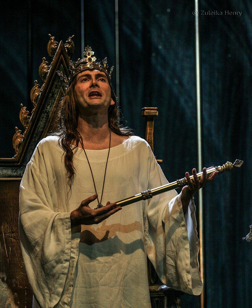 David Tennant in Richard II
