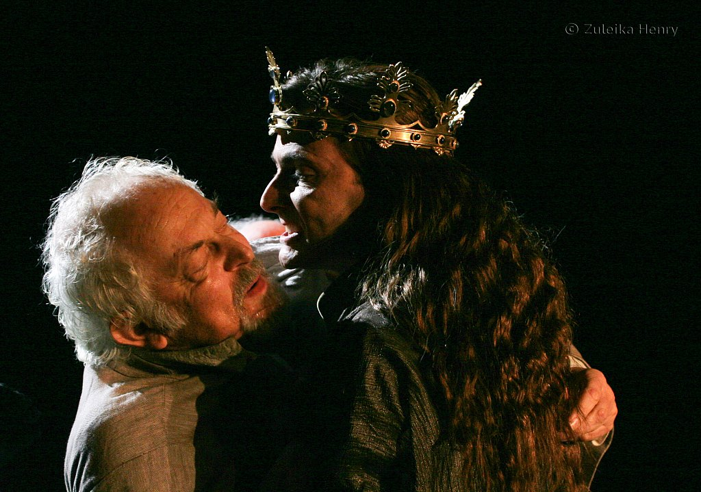 Michael Pennington as John of Gaunt and David Tennant as Richard II