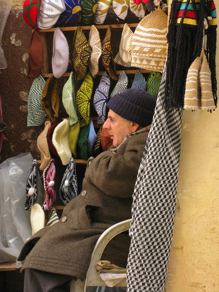 The hat seller