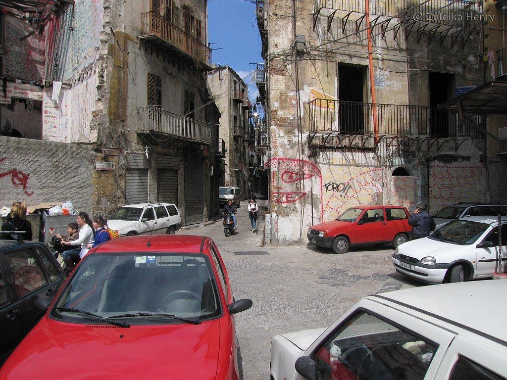 more crumbling facade