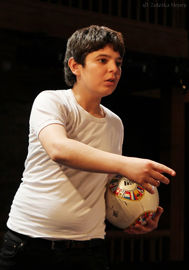 Amerr Hussein as Benvolio,