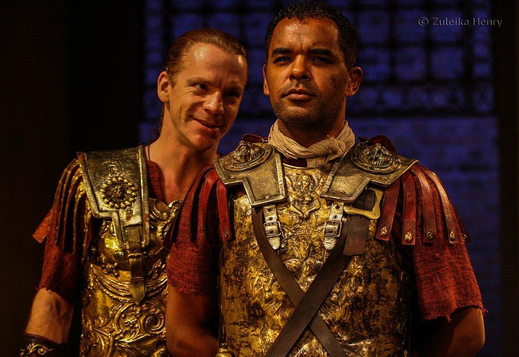 William Houston as Sejanus and Peter de Jersey as Macro