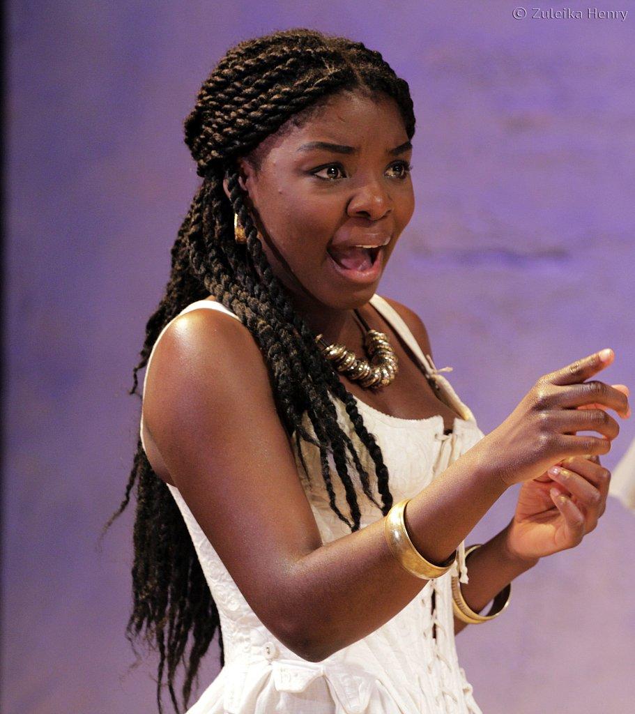 Joaquina Kalukango as Cleopatra