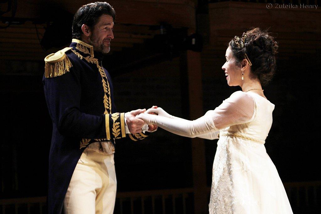 Jonathan Cake as Antony and Charise Castro Smith as Octavia