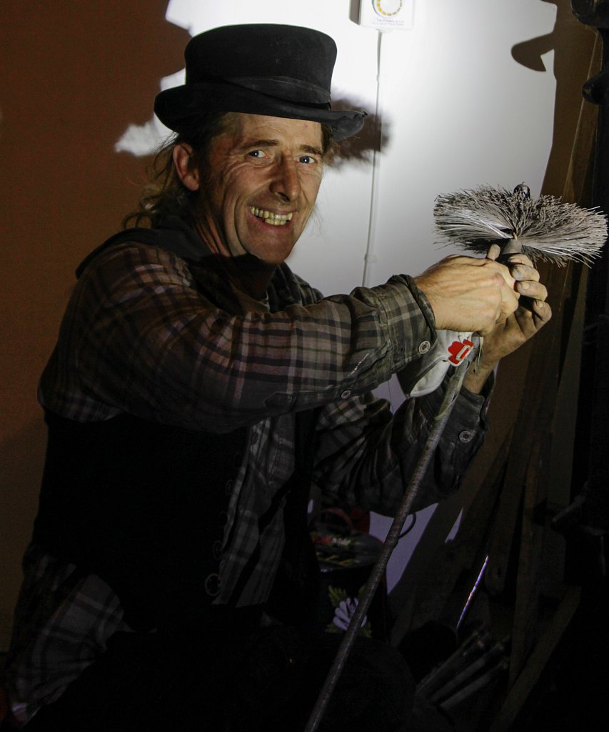 Rory McBride chimney sweep