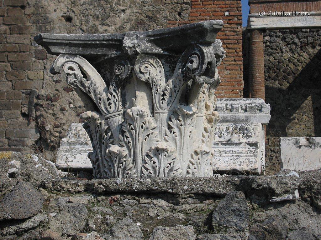 Detailed stonework