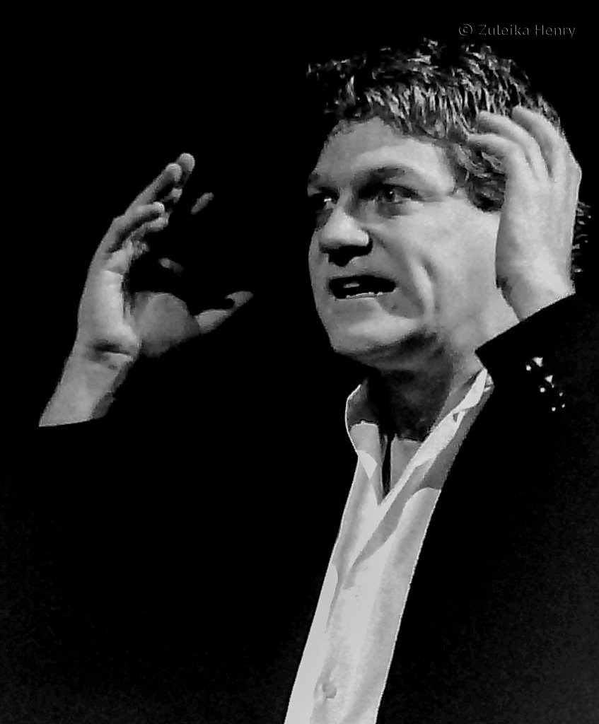 Kenneth Branagh in Hamlet RSC  1992 Directed by Adrian Noble