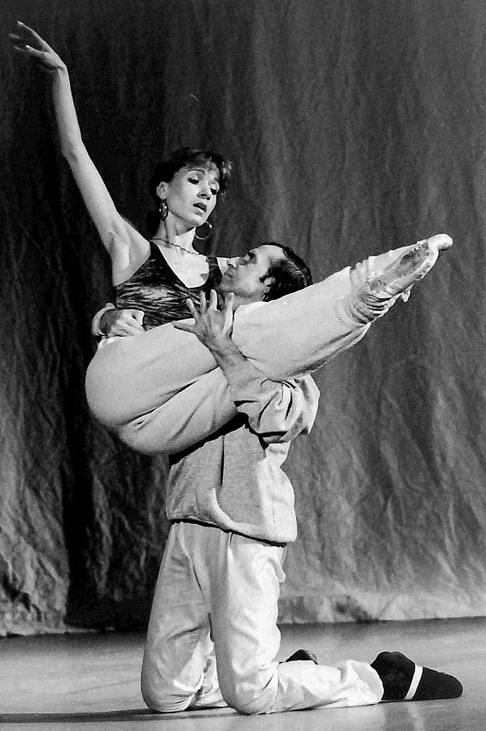 The Stars of THe Bolshoi Ballet in rehearsal