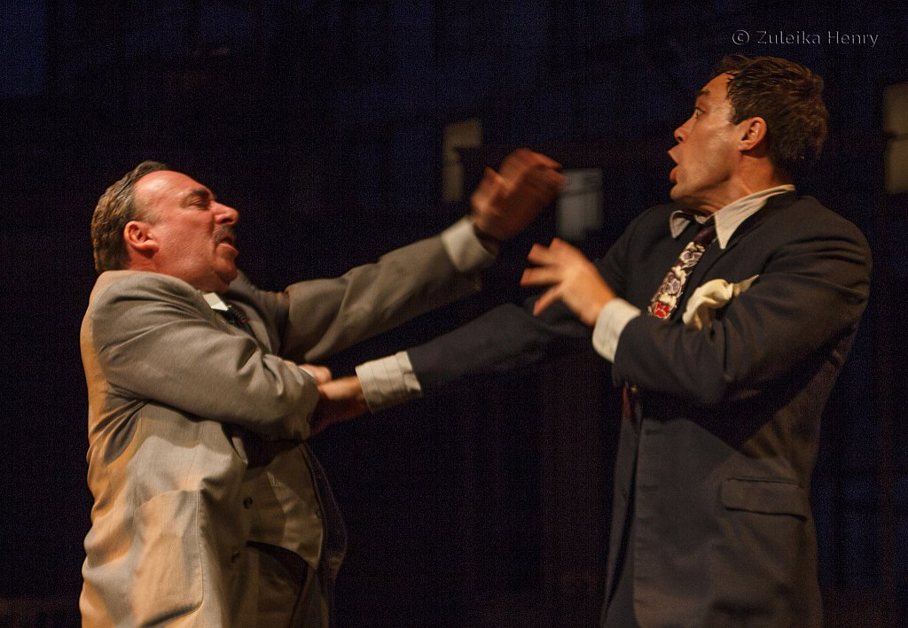 Antony Sher as Willy Loman and Alex Hassell as Biff