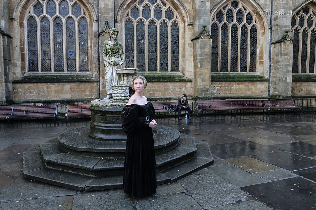 Annette Chown as Mary Shelley