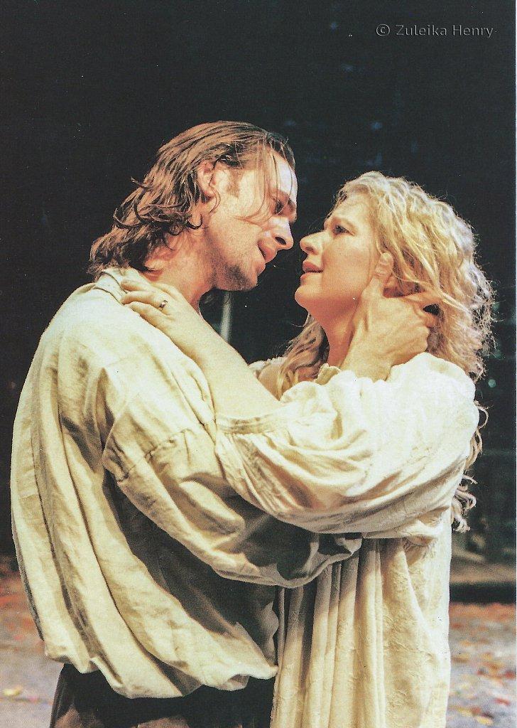 Joeseph Fiennes and Teresa Banham in 'The Herbal Bed' 1996