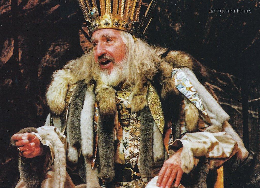 Nigel Hawthorne as King Lear 1996