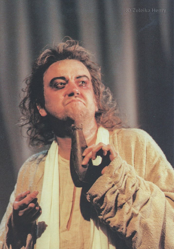 Richard McCabe as Thesertes in Troilus and Cressida 1996/7
