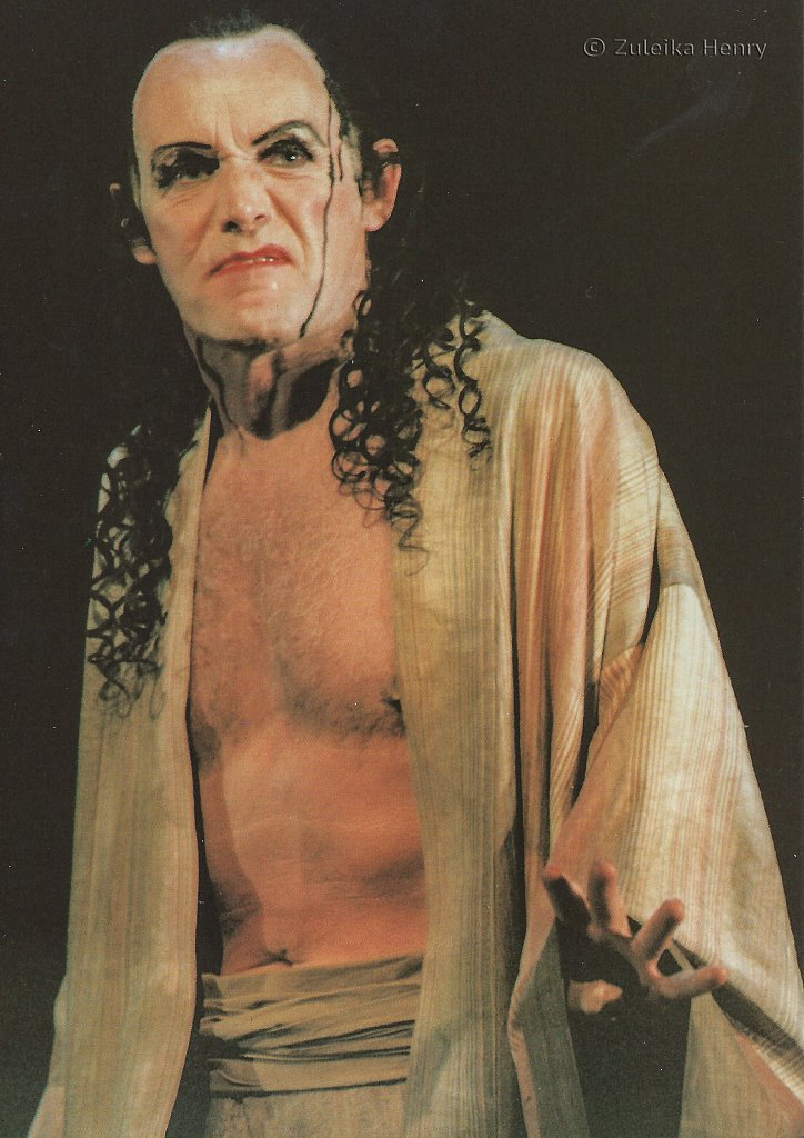 Clive Francis as Pandorus in Troilus and Cressida 1996/7