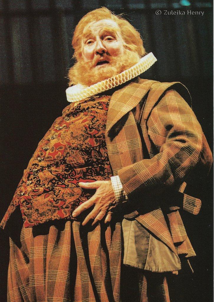 Leslie Phillips as Falstaff 'Merry Wives of Windsor' 1996/7