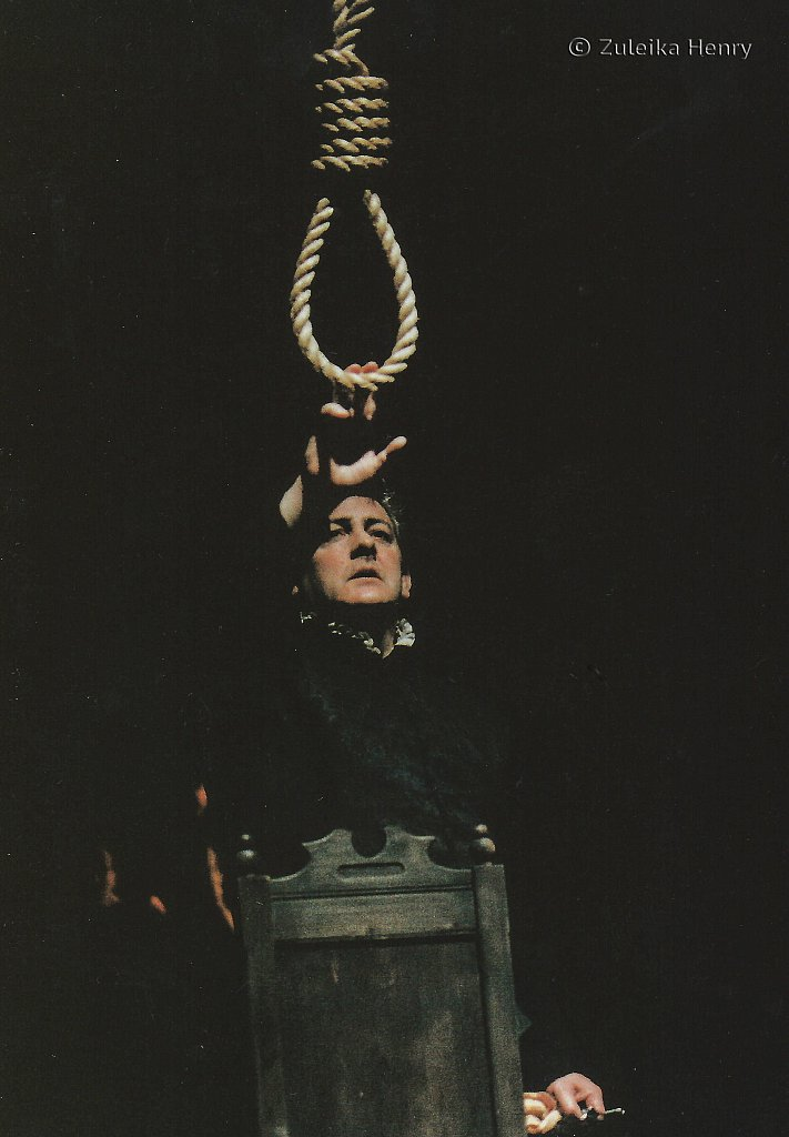 Peter Wight as Hienomina 'The Spanish Tragedy'1997