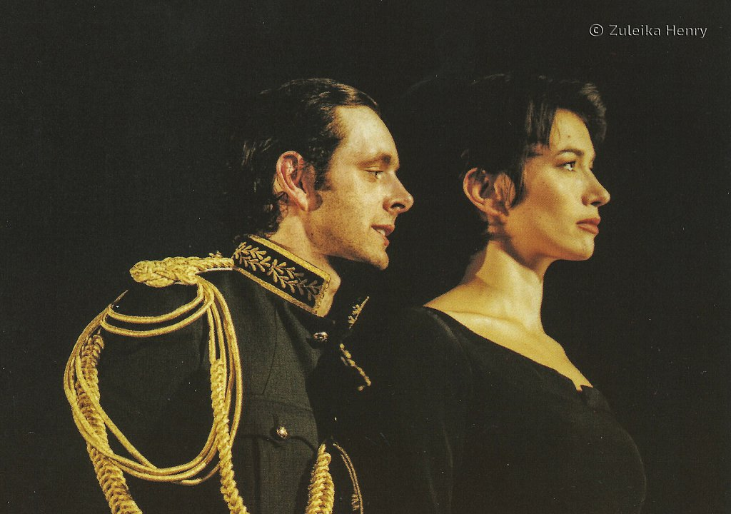 Michael Sheen as Henry Karine Adrover as Katherine 'Henry V' 1997