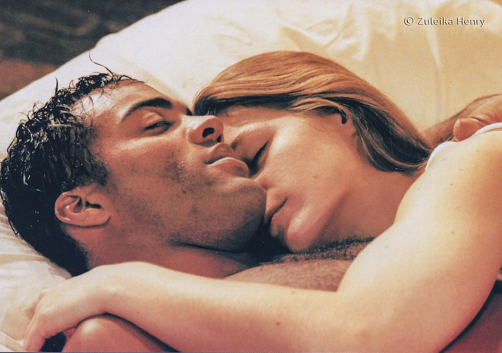 Ray Fearon as Romeo and Zoe Waites as  Juliet 'Romeo and Juliet' 1997