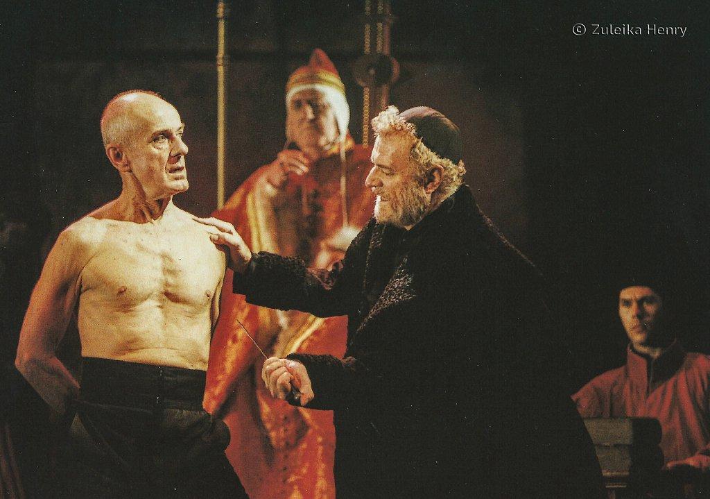 Julian Curry as Antonio Sandy McNab as Duke of Venice Philip Voss as Shylock 'Merchant of Venice' 1997