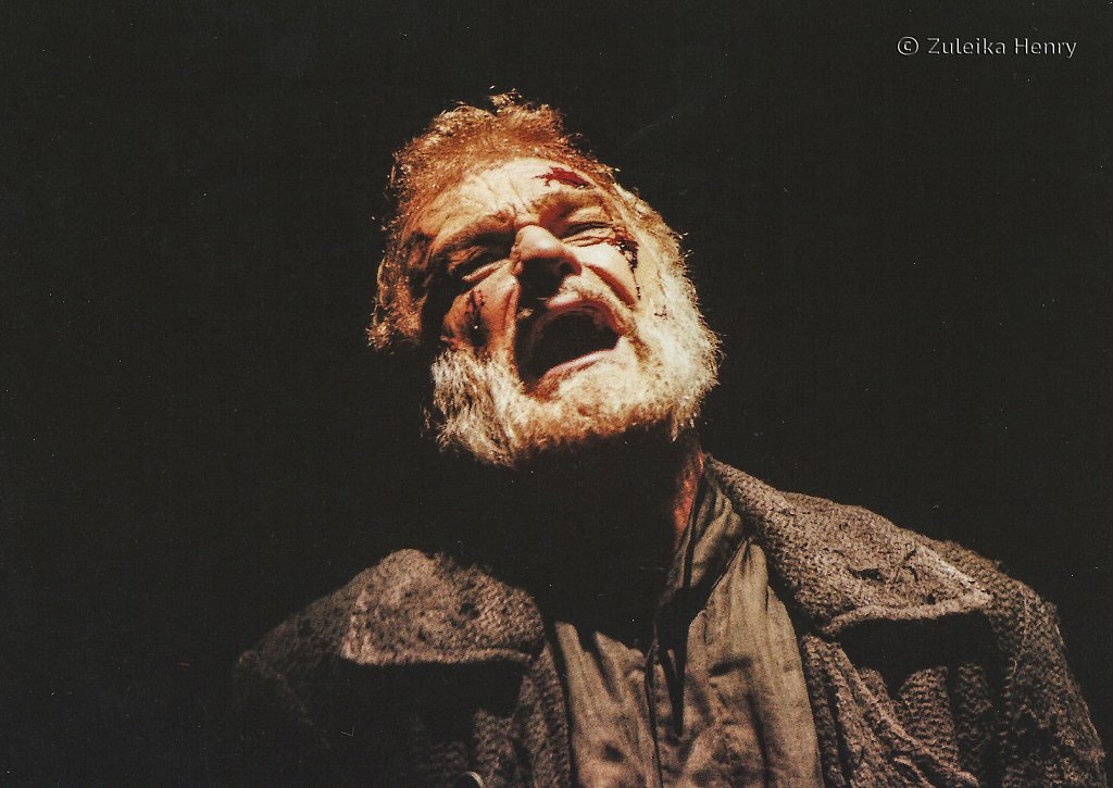 Philip Voss as Shylock 'Merchant of Venice' 1997