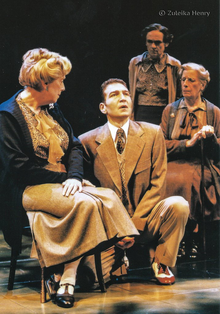 Magaret Tyzack as Amy, Cherry Morris as Ivy, Bridget Turner as Violet and Greg Hicks as Harry 'The Family Reunion' by TS Eliot 1999