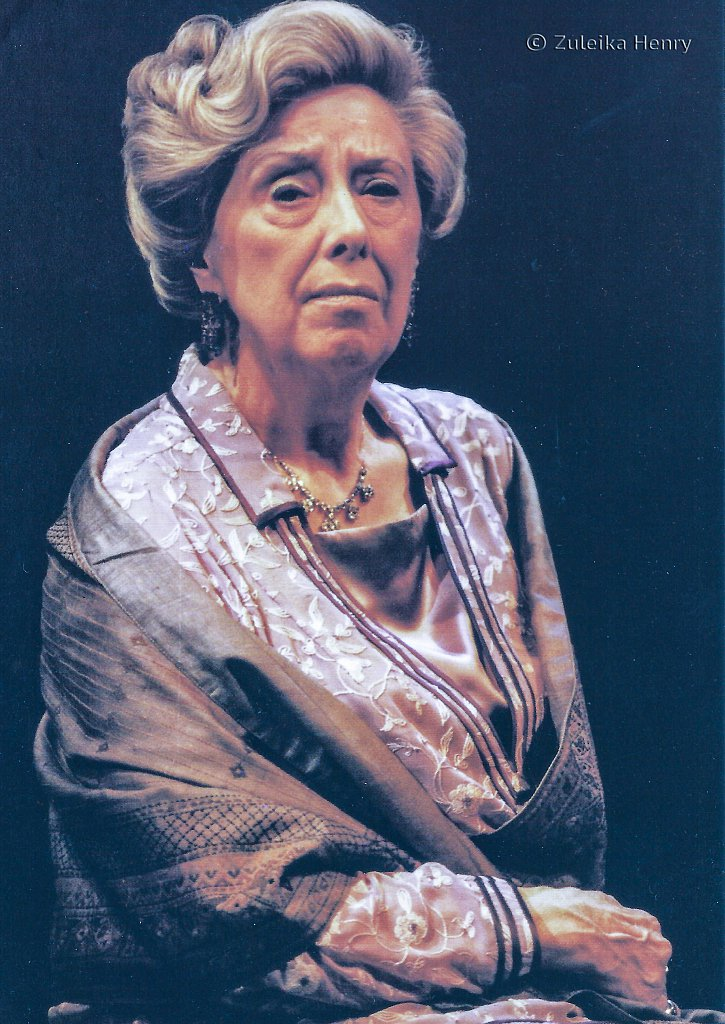 Margaret Tyzack as Amy 'The Family Reunion' by TS Eliot 1999
