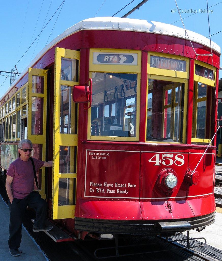 St Charles Street Streetcar