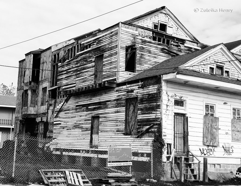 Evidence of the restoration still needed after Hurricane Katrina 12 years on