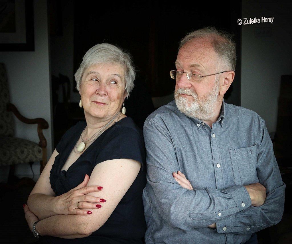 Kirsten Elliot and Andrew Swift of Akermen Press