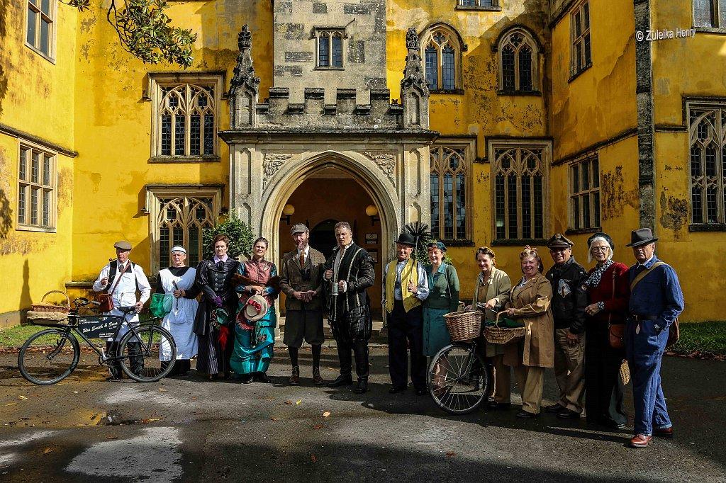Kirsty Cox and Gerard Cooke as Lady Emily and Sir Greville Smyth Jonh Lomas as Hugh Smyth Rachael Fagan as Esme Smyth