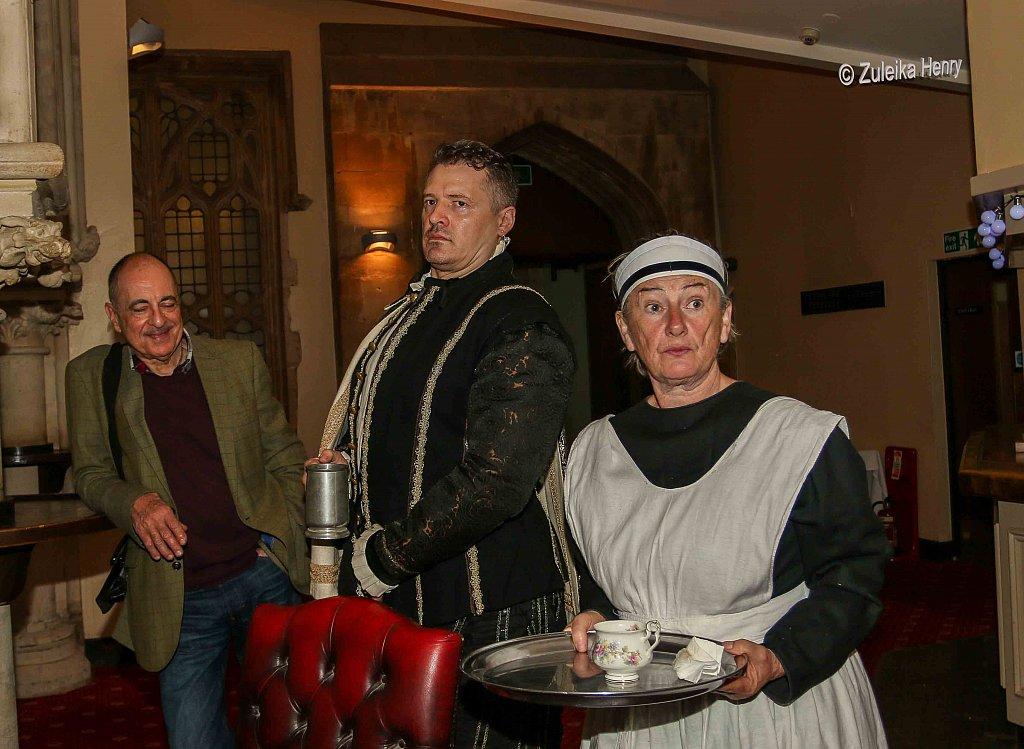 John Lomas as Hugh Smyth and Sheila Hannon as servant Kate
